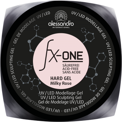 alessandro Fx One Hard Gel Milky Rose 15g