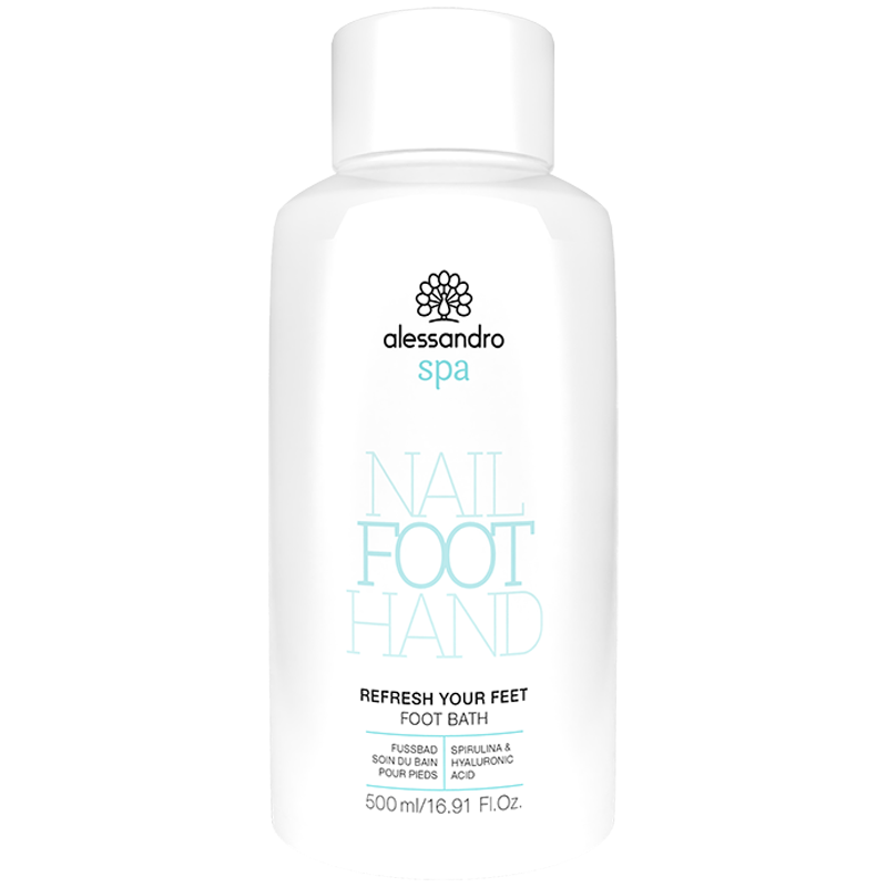 alessandro SPA FOOT Refresh your feet Foot Bath 500ml - värskendav jalavannikontsentraat