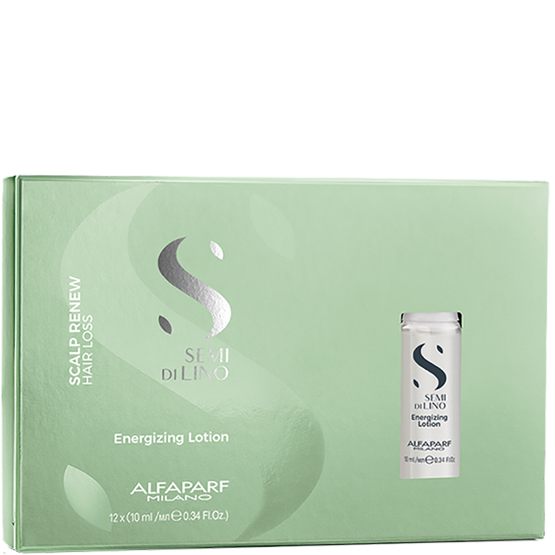 Alfaparf SDL SCALP Renew Energizing Lotion - Juuksekasvu stimuleeriv ja juuste väljalangemist vähendav värvikaitsega energiaemulsioon 12x10ml