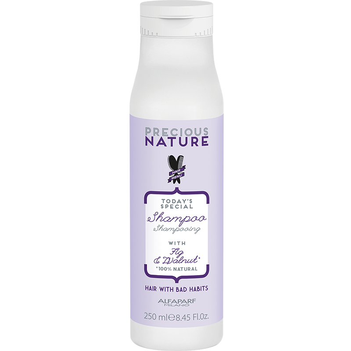 Alfaparf Precious Nature Bad Hair Habits Cleansing Shampoo - šampoon raskesti käsitletavatele juustele 250ml