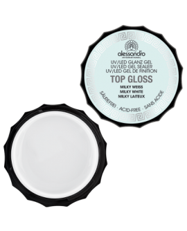Top Gloss Gel Milky White