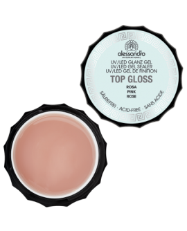 Top Gloss Gel Rosa