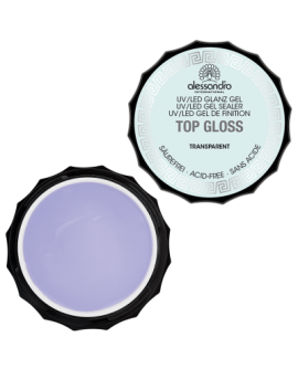 alessandro Top Gloss Transparent - UV-pealisgeel 100g