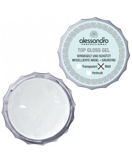 alessandro Top Gloss Gel Matt - UV-pealisgeel