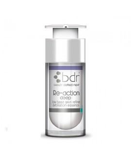 BDR Re-action deep low base skin refiner 10% 30ml
