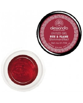 alessandro Colour Gel 125 Fire and Flame värviline geel küüntele 5g