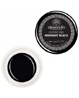 alessandro Colour Gel 177 Midnight Black värviline geel küüntele 5g