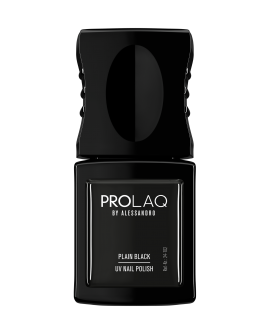 Alessandro Prolaq 102 Plain Black - UV/LED geellakk, 8ml