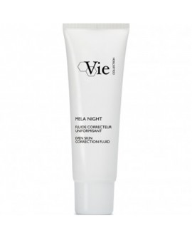 VIE Mela Night Even Skin Correction Fluid – Pigmendimuutusi korrigeeriv ööemulsioon 50ml