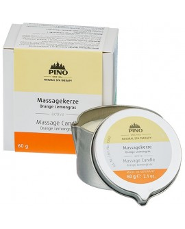 PINO Massage Candle Orange Lemongrass