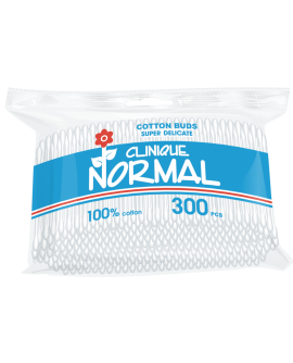 Normal Clinique Q-tips - vatitikud, kilepakendis 300tk