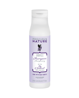 Alfaparf Precious Nature Bad Hair Habits Cleansing Shampoo - šampoon raskesti käsitletavatele juustele 250ml