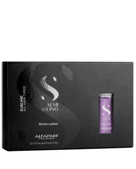Alfaparf SDL DIAMOND Illuminating Shine Lotion – juuste säratoonik, 12 x 13 ml