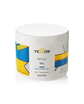 YELLOW Style Gel – stiliseerimisgeel juustele, 500ml