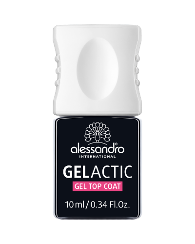 alessandro Gelactic Gel Top Coat - geel-pealislakk 10ml